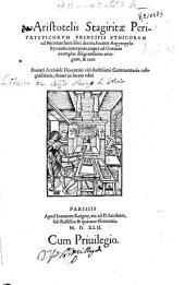 Aristotelis Stagiritae ... Ethicorum ad Nicomachum libri decem