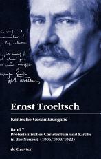 Protestantisches Christentum und Kirche in der Neuzeit PDF