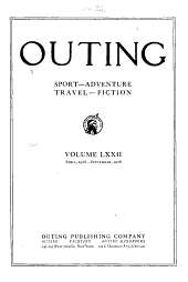 Outing: Volume 72