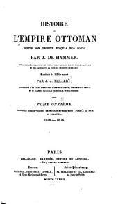 Histoire de l'Empire ottoman: depuis son origine jusqu'à nos jours, Volume13