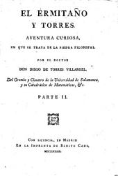 El ermitaño y torres: aventura curiosa, en que se trata de la piedra filosofal