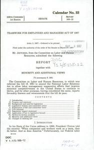 Teamwork for Employees and Managers Act of 1997 PDF