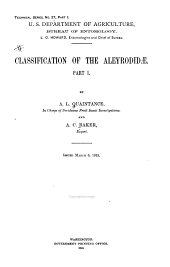 Classification of the Aleyrodinae