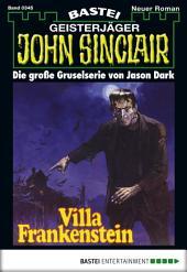 John Sinclair - Folge 0345: Villa Frankenstein