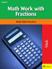 Math Work with Fractions: Math Skills Practice