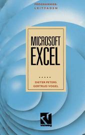 Programmierleitfaden Microsoft EXCEL: Version 2.10