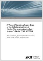 3rd Annual Workshop Proceedings of the Collaborative Project  Redox Phenomena Controlling Systems   7th EC FP CP RECOSY  PDF