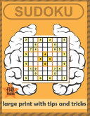 Sudoku Large Print with Tips and Tricks