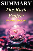 Summary of the Rosie Project PDF