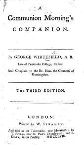 A Communion Morning's Companion