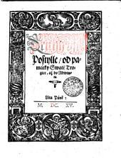 Druhý djl Postylle, od památky Swaté Trogice, až do Adwentu: Díl 2