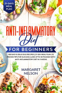 Anti Inflammatory Diet For Beginners Book PDF