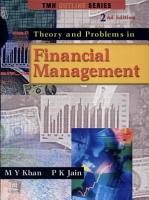 Theory and Problems in Financial Management PDF