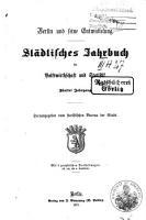 Berliner Stadt  und Gemeinde Kalender und st  dtisches Jahrbuch  afterw   Berlin und seine Entwickelung PDF