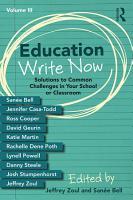 Education Write Now  Volume III PDF
