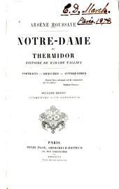 ... Notre-Dame de Thermidor: histoire de Madame Tallien. Portraits, gravures, autographes...