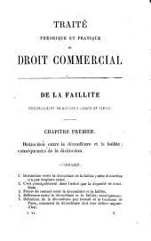 Traité théorique et pratique de droit commercial. Nouvelle édition comprenant dans un ordre nouveau, l'ouvrage publié sous le titre du contrat de commission ou des obligations conventionnelles en matière de commerce: Volume6