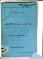 By-laws of the Chicago Public Library