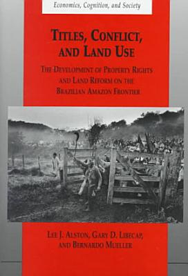 Titles  Conflict  and Land Use PDF