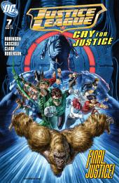 Justice League: Cry for Justice (2009-) #7