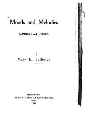 Moods and Melodies PDF