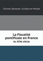 La Fiscalit? pontificale en France