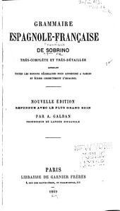 Grammaire espagnole-française
