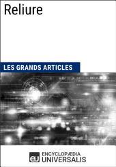 Reliure: Les Grands Articles d'Universalis