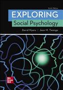 Looseleaf for Exploring Social Psychology