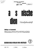 Franziskanische Studien PDF