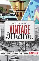 Discovering Vintage Miami PDF