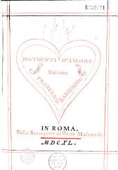 Documenti d'amore di M. Francesco Barberino