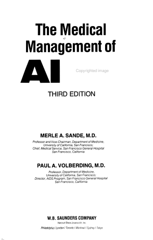 The Medical Management of AIDS