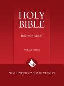 NRSV Reference Bible with Apocrypha  NR560 XA