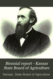 Biennial Report - Kansas State Board of Agriculture: Volume 2