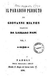Il paradiso perduto di Giovanni Milton: 1