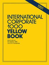 International Corporate 1000 Yellow Book: 1990
