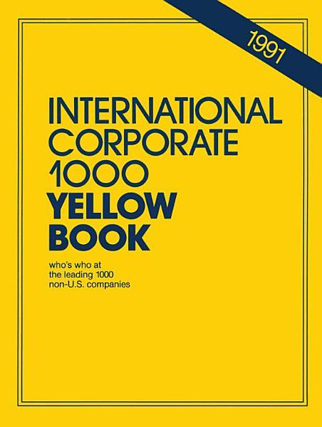 International Corporate 1000 Yellow Book
