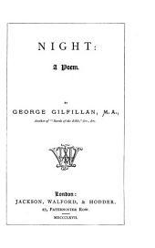 Night: A Poem
