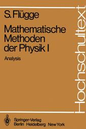 Mathematische Methoden der Physik I: Analysis