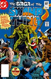 The Saga of the Swamp Thing (1982-) #1