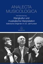 Klangkultur und musikalische Interpretation