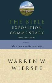 The Bible Exposition Commentary: Volume 1