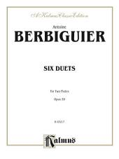 Six Duets, Opus 59: For Two Flutes