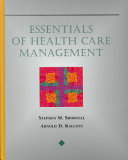 Essentials of Health Care Management PDF