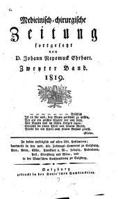 Medicinisch-chirurgische Zeitung: 1819, 2
