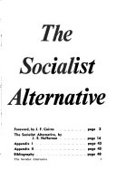 The Socialist Alternative PDF