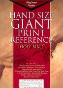 Hand Size Giant Print Reference Bible KJV PDF