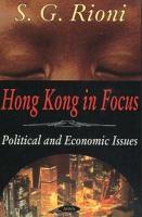 Hong Kong in Focus PDF