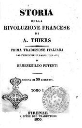 Storia della Rivoluzione francese di A. Thiers: Volume 1